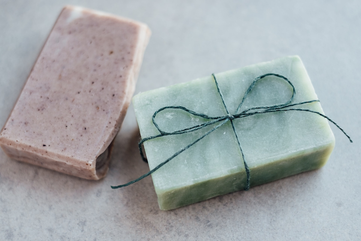 Raw and chunky soap bars