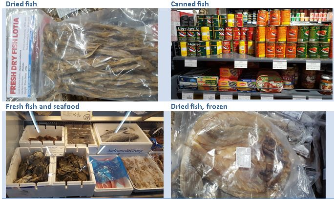 Exporting fish and seafood to the European ethnic retail